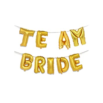 16inch Bride to be Letter Foil Diamond Ring Balloon For Wedding Hen Party Decor