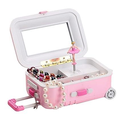 c612b844320f Amyove caja de música con cajón para veliz