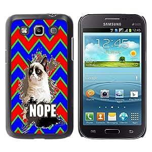 Dragon Case - FOR Samsung Galaxy Win I8550 - Don??let me off - Caja protectora de pl??stico duro de la cubierta Dise?¡Ào Slim Fit