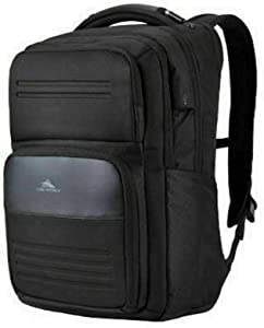High Sierra Elite Pro Business Backpack Black