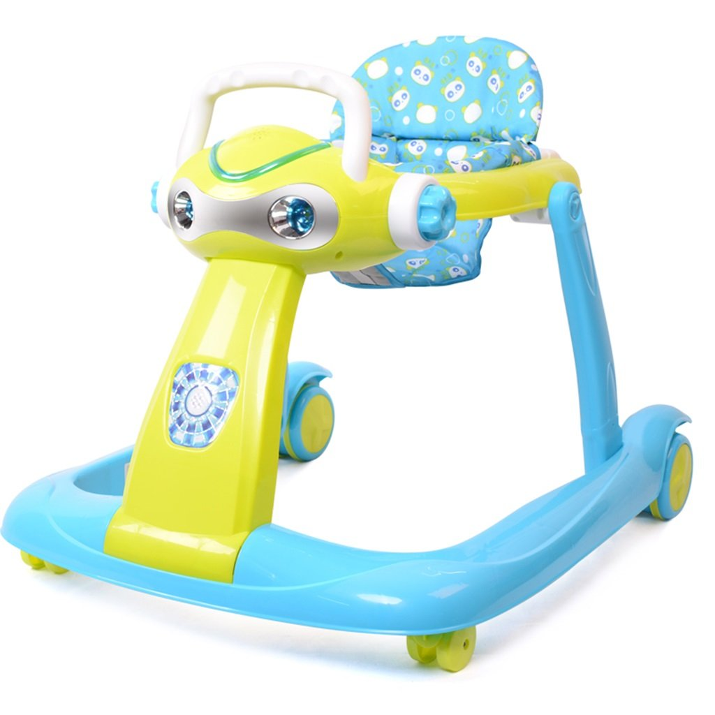 HAIZHEN マウンテンバイク PP +布ベビーウォーカー6/7-18ヶ月幼児のアンチロールオーバー多機能玩具は、折り畳むことができる折り畳み式の赤ちゃんキャリッジ座ることができます68 * 58 * 59センチメートル 新生児 B07DMNJ8QV 1 1