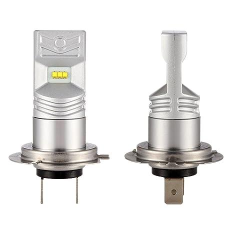 NIGHTEYE H7 LED Bombillas 6500K blanco 50W 1600LM LED lámpara con la viruta del Philips Faro