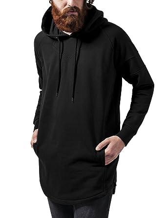 433ce4df8b60e Urban Classics Long Shaped Hoody Sweat-Shirt à Capuche Homme: Amazon ...