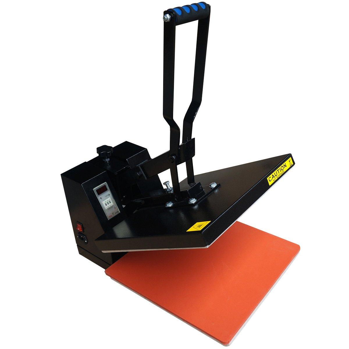 FDS 40x50 Heat Press Machine T-shirt Photo Clam Sublimation Pressing Printing Kit
