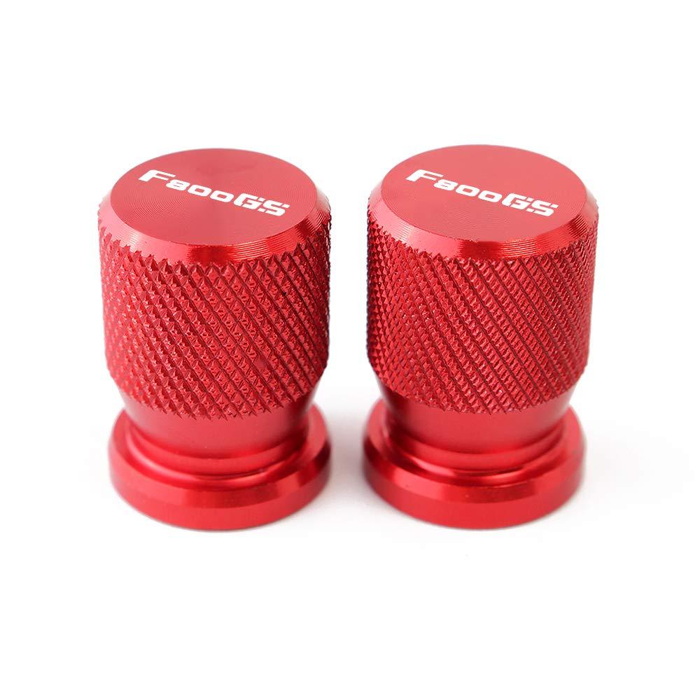 BXMoto Tapas de V/álvulas de la v/álvula del neum/ático del Estilo Redondo para B M W F650GS F750GS F800GS F850GS G310GS G310R K1200S K1600GT R1200GS R1200R RS RT R1250GS S1000R RR XR