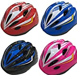 Kids Bike Helmet - Adjustable from Toddler to Youth Size, Ages 3 to 7 - Durable Kid Bicycle Helmets with Fun Racing Design Boys and Girls Will Love - CSPC Certified for Safety