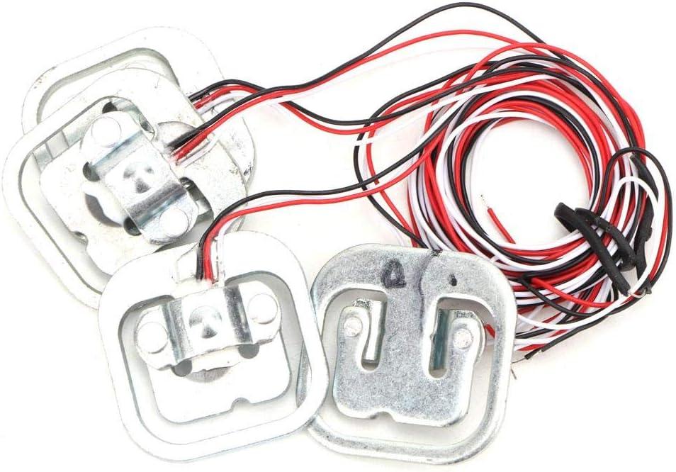 4 capteurs de pond/ération de jauge de contrainte Demi-Pont Personal 50Kg Pbzydu Kit de capteurs de Pesage Module HX711