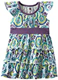 Tea Collection Baby-girls Infant Woodstock Twirl Dress, Milk, 18-24 Months image