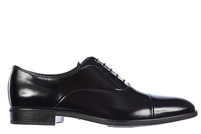 Prada Chaussures à Lacets Classiques Homme en Cuir Fume Oxford Noir EU 44  2EE145 P39 F0002 bdc39d9adbd2