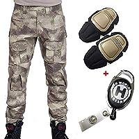 H Welt EU - Pantalones militares del ejército táctico, para airsoft o paintball, pantalones de lucha para hombre con…