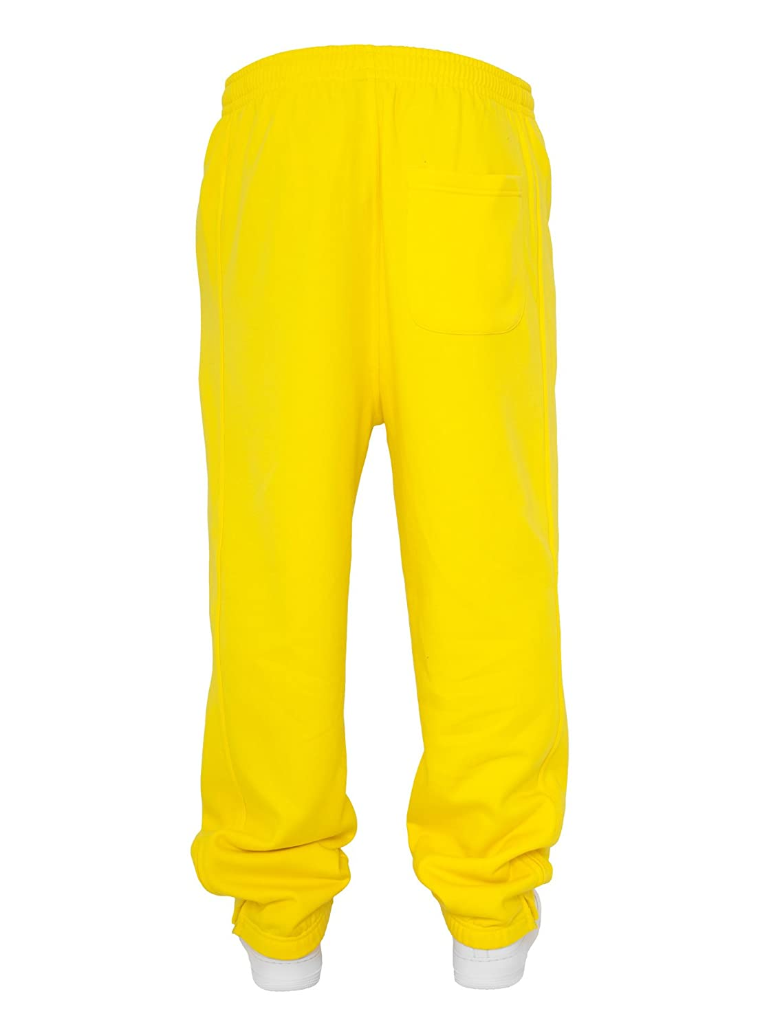 Urban Classics Men's Trousers - Yellow - Yellow - Small
