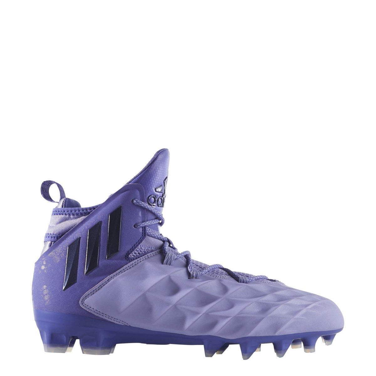 adidas Freak Lax Mid Shoe Men's Lacrosse 7.5 Light Purple-Purple by adidas