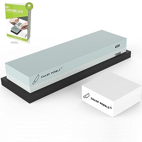 Amazon Premium Whetstone Sharpening Stone 2 Side Grit 4001000