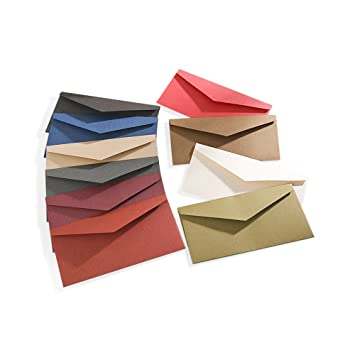 Zhi Jin 30pcs carta sobres tarjeta de visita caso titular tarjeta de felicitación sobre Set de regalo para boda invitaciones de fiesta, color verde ...