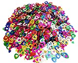 Mistari 5000 Pcs Paper Confetti Paper Heart Confetti Plastic Sequin Birthday Party Wedding Decorations Multi Colored