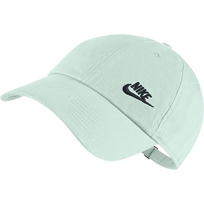 Nike Gorra H86 Swoosh verde/negro talla: Ajustable: Amazon.es ...