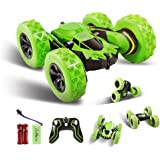 Innoo Tech RC Stunt Car Rechargeable Racing Car with 2.4Ghz Remote Control, High Speed Car Toys 4WD Double Sided 360…