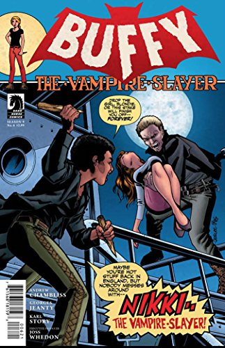 - Buffy the Vampire Slayer Season 9 #6 (Georges Jeanty Cover)
