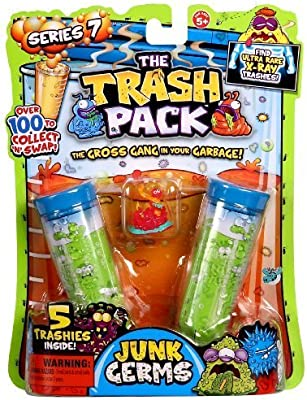 Trash Pack S7 Action Figure (5-Pack) by Trash Pack: Amazon.es: Juguetes y juegos