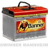 Autobatterie 63AH Banner Power Bull Professional