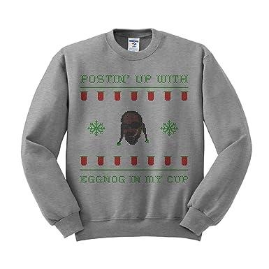 Amazoncom Snoop Dogg Ugly Christmas Drinking Sweatshirt Unisex