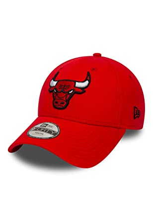 A NEW ERA Era Essential 9Forty Chicago Bulls Gorra, Infantil, Rojo ...