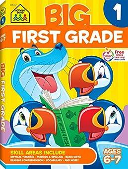 math worksheet : first grade big workbook! ages 6 7  wendy colsen barbara bando  : First Grade Workbooks