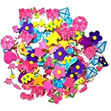 Playscene Self Adhesive Foam Craft Stickers (Princess - 500 Pack)