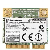 Azurewave AW-CB160H Broadcom BCM94360HMB 1300Mbps 802.11abgn/11ac WLAN + Bluetooth 4.0 2.4/5GHz PCI-E Mini Card