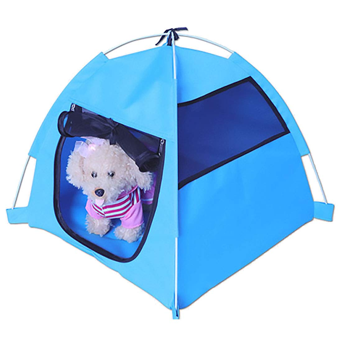 A Outdoor Dog Kennel, Cat Dog House Foldable Puppy Cave Pet Tent House Puppy Cave Pet Sleeping Warm Bed Mat Outdoor Travel Nest Tent Extra Large Dog House,A