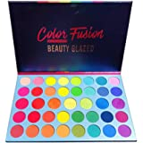 39 Shades Matte Shimmer Metallic Eye Shadow Pallet Long Lasting Bright Colorful Rainbow Eyeshadow Palette Color Fusion Highly