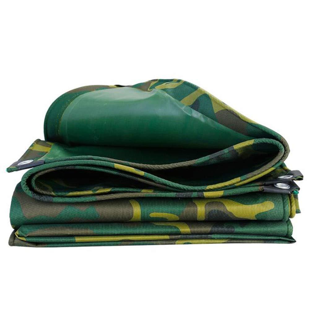 vert 4.5X10M ZXQ BÂche extérieure, dissimulée, Anti-Âge, légère, antipluie, adaptée à la Jungle extérieure (Couleur   vert, Taille   2X3M)