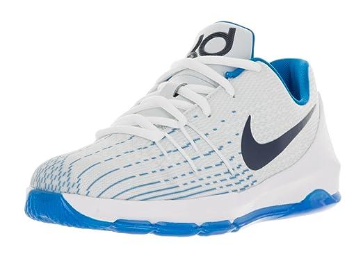 wholesale dealer 436dc a4e89 ... canada nike kd 8 ps enfants chaussures de basketball blanc minuit navy  photo c7f36 46a03