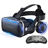 Vr Shinecon Vr Headset for Phone Cool Virtual Reality Goggles for Beginner with Android Gamepad