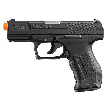 Umarex Walther 2262020 15 Rounds P99 Blowback Air Soft Pistol, 6mm, Black