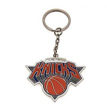 New York Knicks Official Basketball Gift Keyring