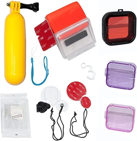 Pack Action Outdoor ® de buceo para GoPro con 7 accesorios: Amazon ...