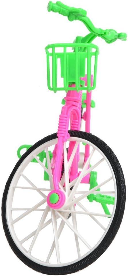 Eleganantamazing - Bicicleta de plástico Desmontable con Cesta ...