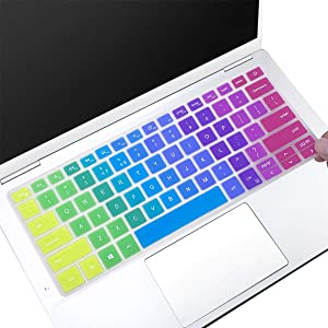 MUBUY Keyboard Cover for 2020 2019 New Dell Inspiron 13 5390 5391 7390 7391 13.3