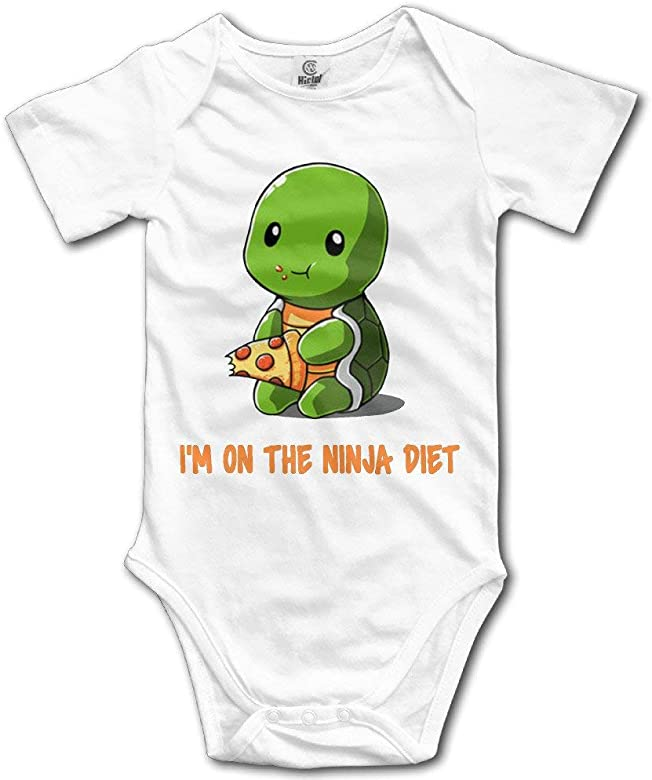 GXLLLW Tortugas Unisex Estoy en la Dieta Ninja Mamelucos ...