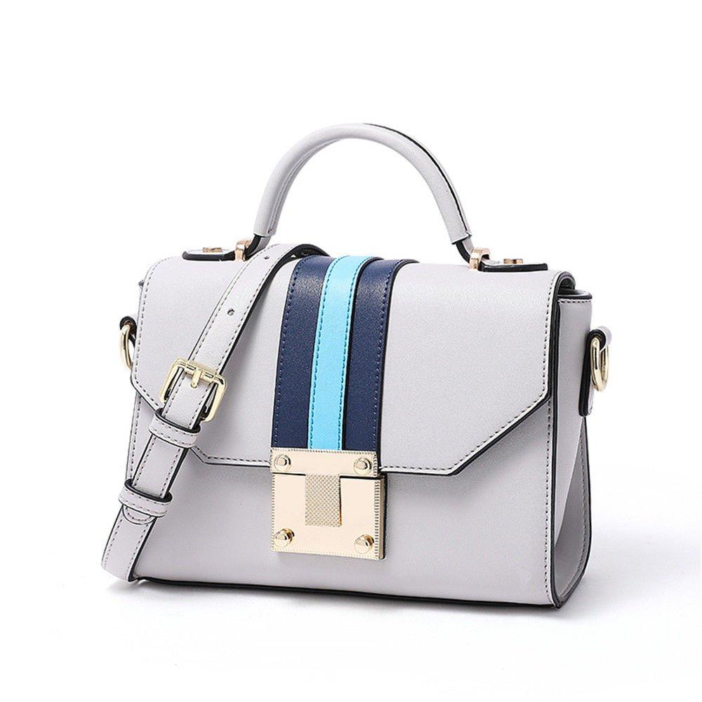 Fashionable Single Shoulder Bag Purse Purse,Gray,21.5X16X9.5Cn