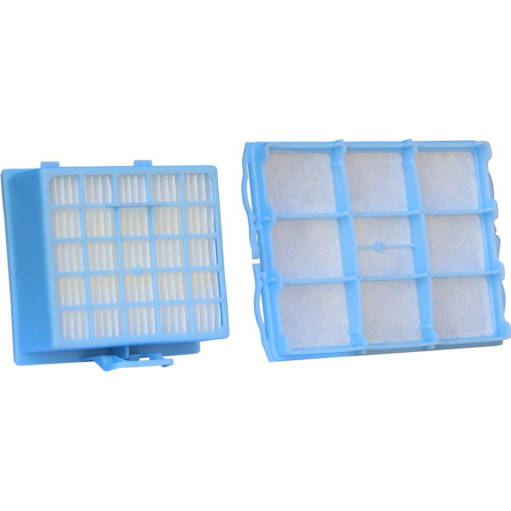 Acquisto Set di Filtri per Aspirapolvere Con 1Filtro HEPA e 1Filtro di protezione motore adatto per Bosch BSG6/SIEMENS VS06G Serie Prezzo offerta
