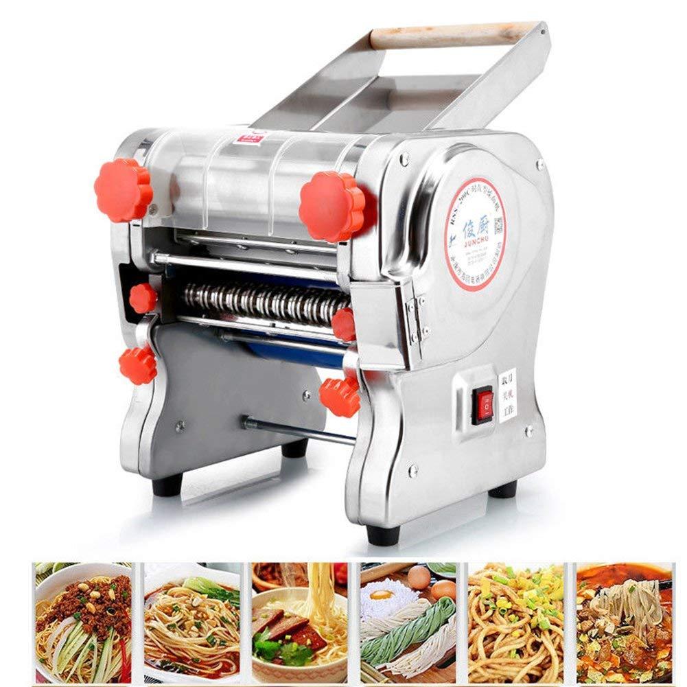 Hengwei 750W 110V Stainless Steel Commercial Electric Noodle Making Pasta Maker Dough Roller Noodle Cutting Machine(Noodle Width 22CM,Knife Length 180cm,Noodle Width 2mm / 6mm) by ele ELEOPTION