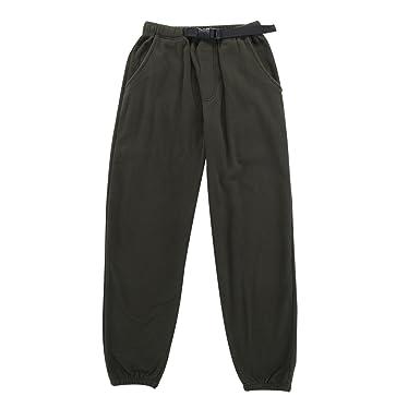 09bc599bd4 Krumba Men's Anti-Pilling Outdoor Micro-Fleece Zip Pants with Belt Size S