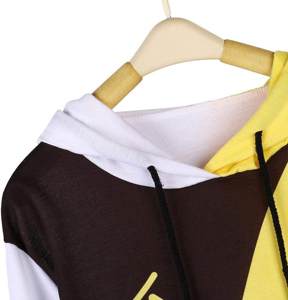 Wolfleague Enfants Teen Girls Crop Tops Sweats /à Capuche Tie-Dye Pull /à Manches Longues Sweatshirts Tops T-Shirt /à Manches Courtes Col Rond Et/é Basique Tee Shirt Pulls Tunique Sportwear Tops