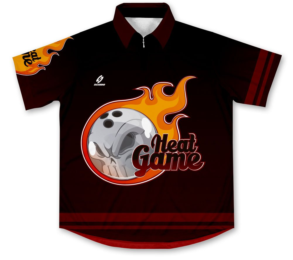 ScudoPro Heat Game Bowling Jersey - Size 4XL by ScudoPro