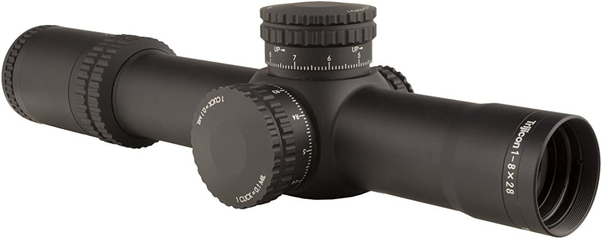 5. Trijicon AccuPower 1-8x28mm Scope