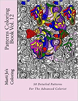 Patterns Coloring Book Vol. 12