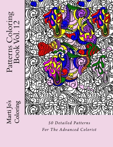 Patterns Coloring Book Vol. 12