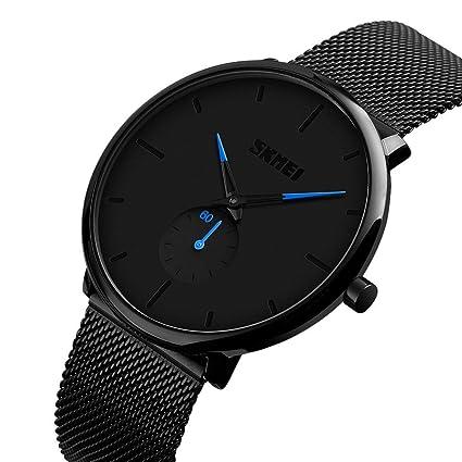 Amazon.com: NOMENI Mens Watch Fashion Simple Minimalist ...
